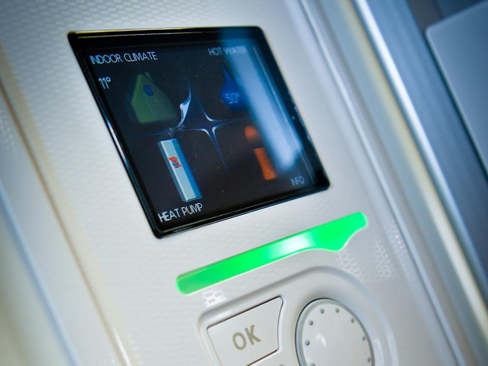 Full heating Control NIBE GSHP controls