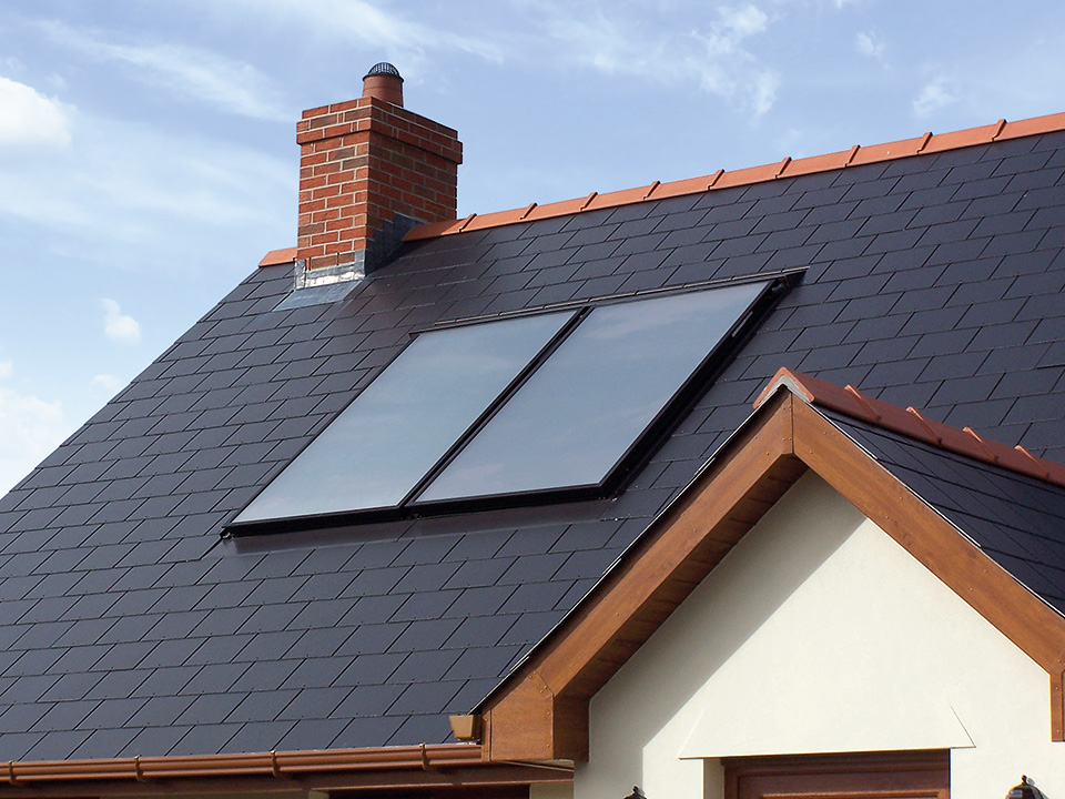 Solar Thermal System by A J Clacher