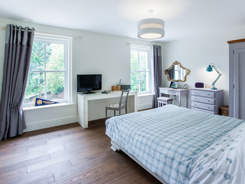 Under Floor Heating - Main bedroom
